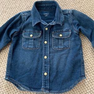 Gap Jean Shirt 👕 12-18 Months